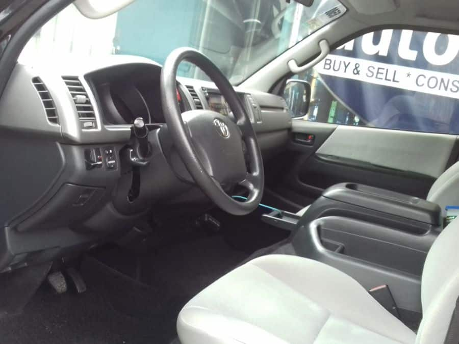 2013 Toyota Grand Hiace - Interior Front View