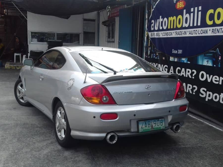 2005 Hyundai Coupe - Rear View