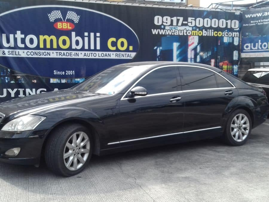 2009 Mercedes-Benz S350 - Left View