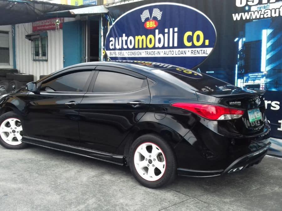 2012 Hyundai Elantra - Left View