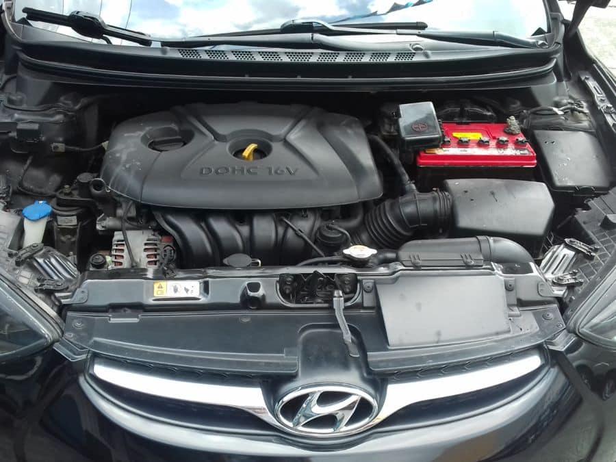 2012 Hyundai Elantra - Interior Rear View