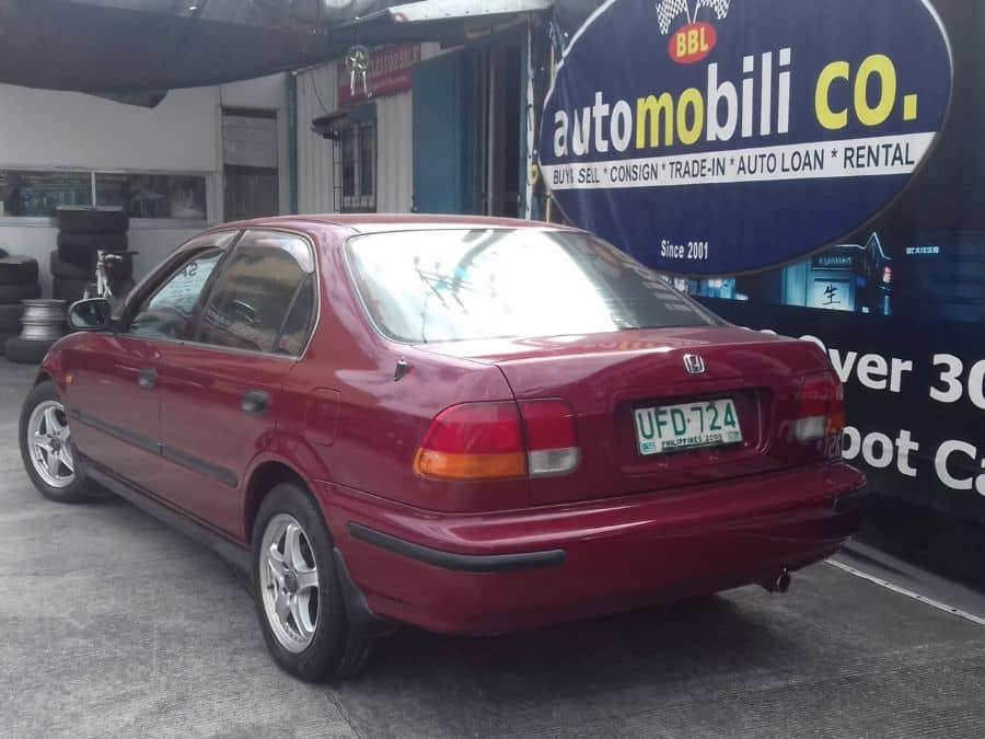 1997 Honda Civic - Rear View