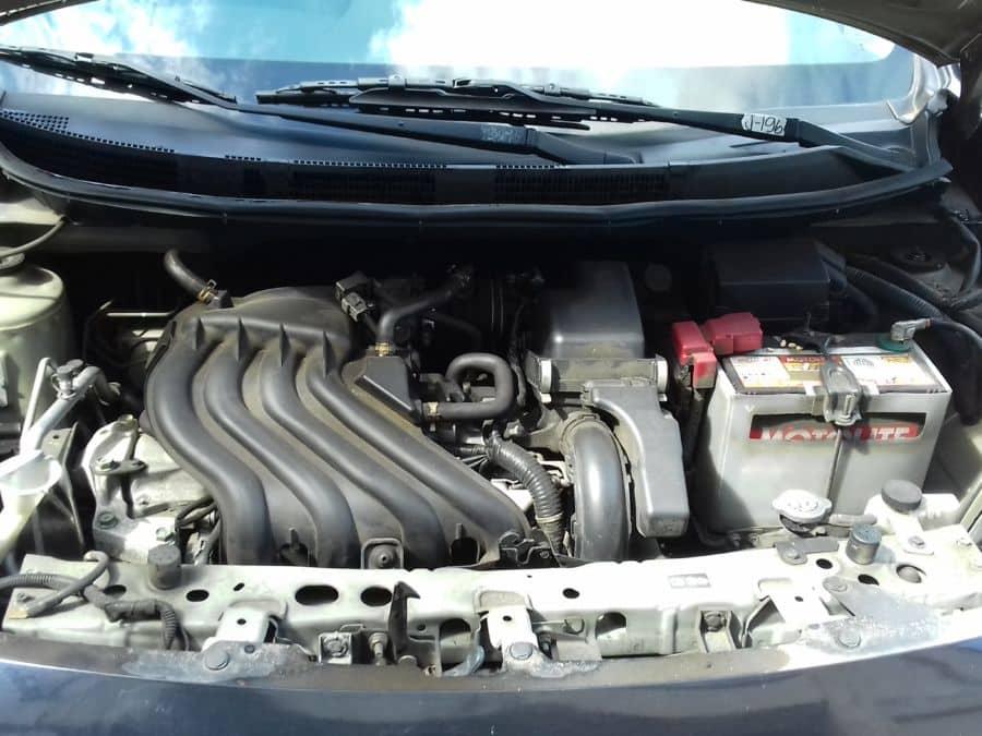 2015 Nissan Almera - Interior Rear View
