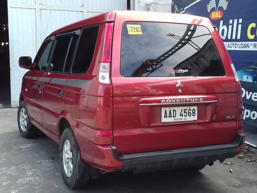2014 Mitsubishi Adventure - Rear View