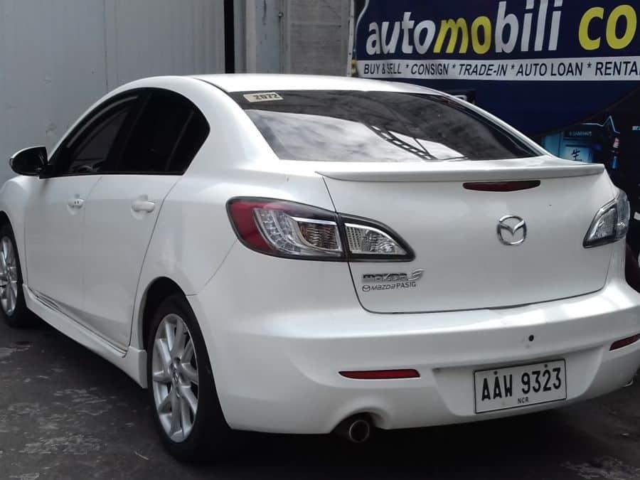 2014 Mazda MazdaSpeed3 - Rear View