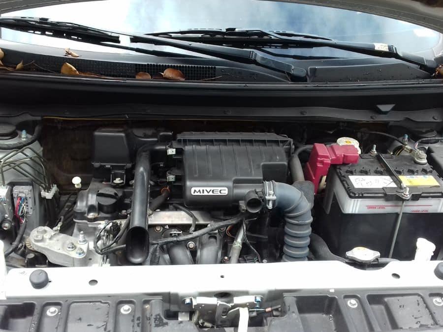 2015 Mitsubishi Mirage G4 - Interior Rear View