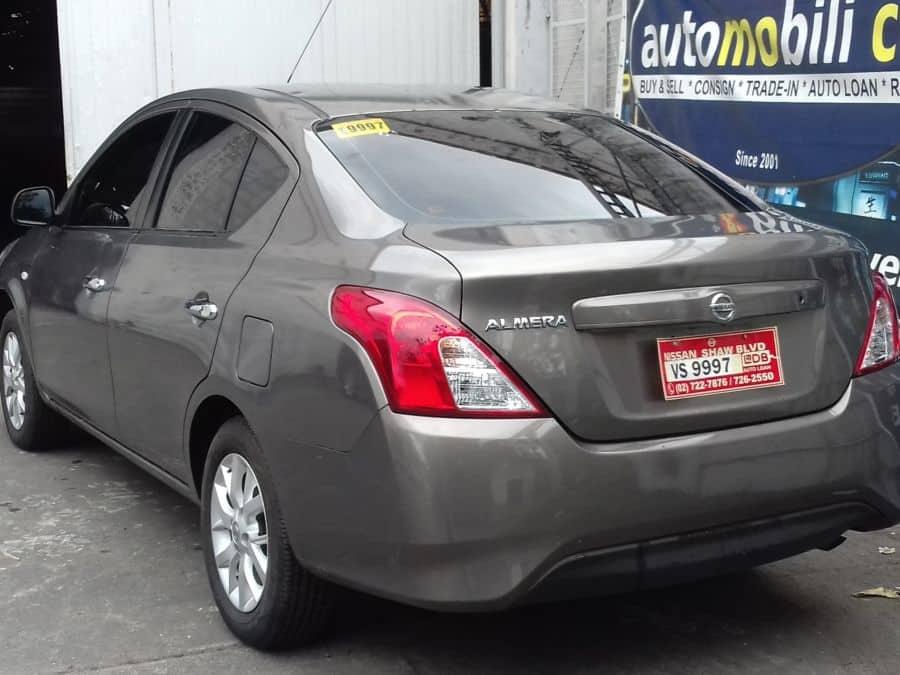 2016 Nissan Almera - Rear View