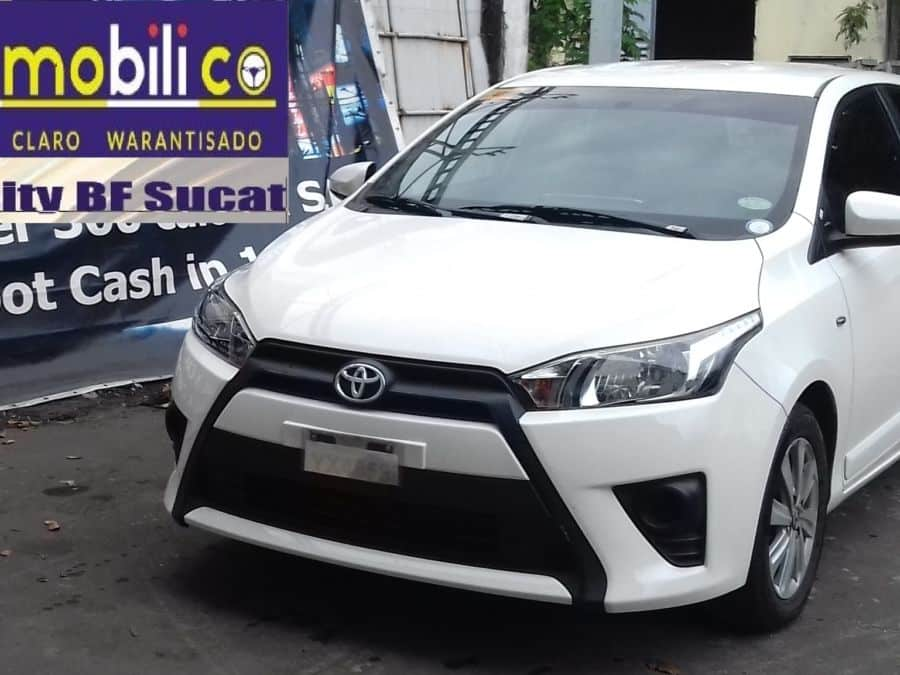 2016 Toyota Yaris - Front View