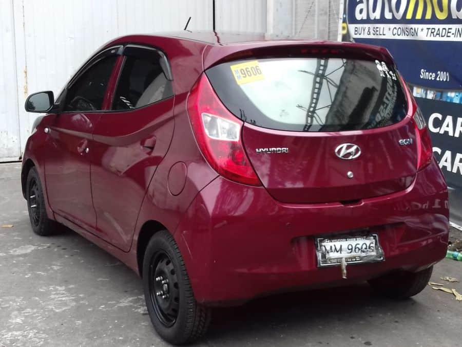 2015 Hyundai Eon - Rear View