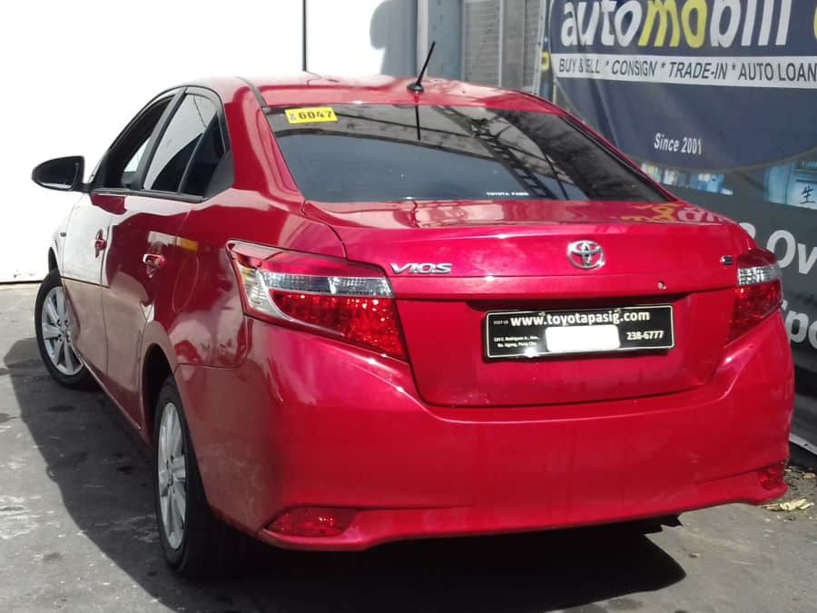 2016 Toyota Vios - Rear View