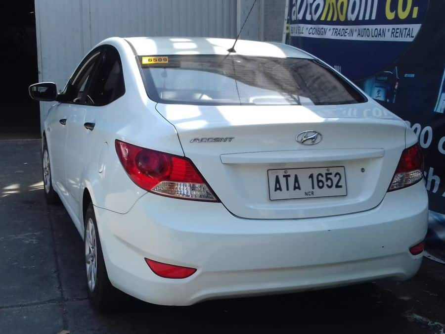 2014 Hyundai Accent - Rear View