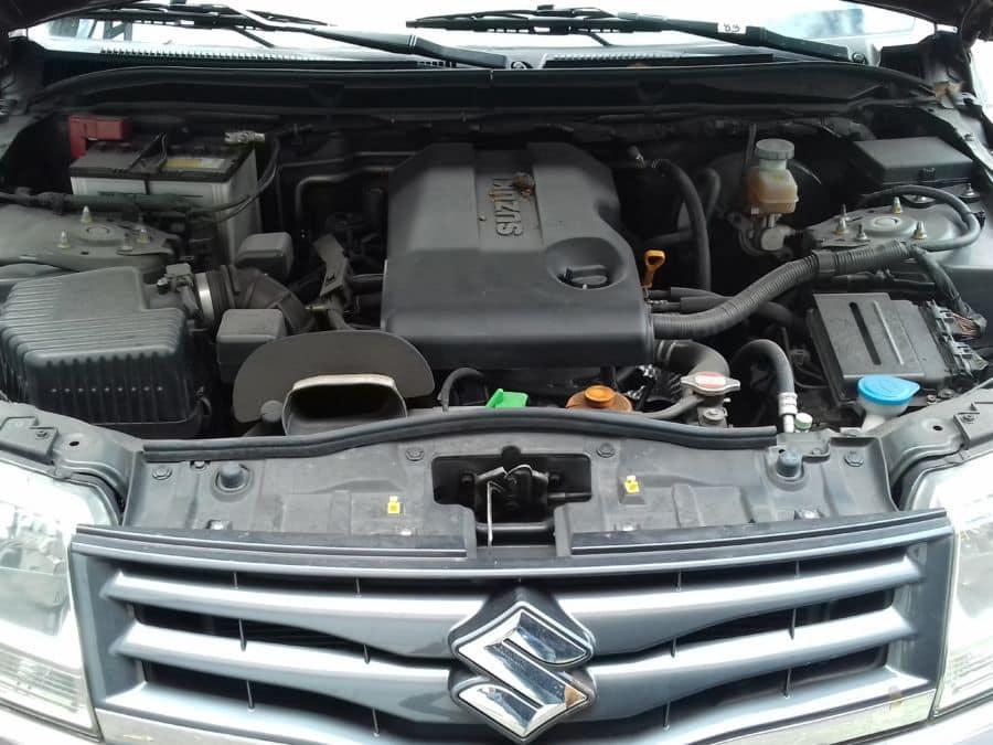 2015 Suzuki Grand Vitara - Interior Rear View