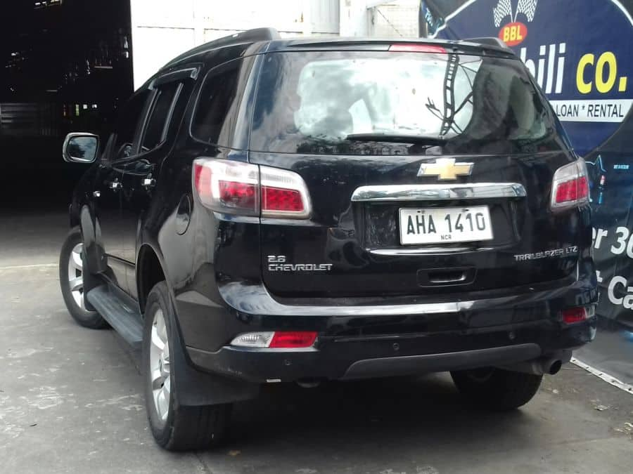 2014 Chevrolet Trailblazer - Rear View