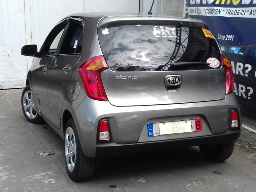 2016 Kia Picanto - Rear View