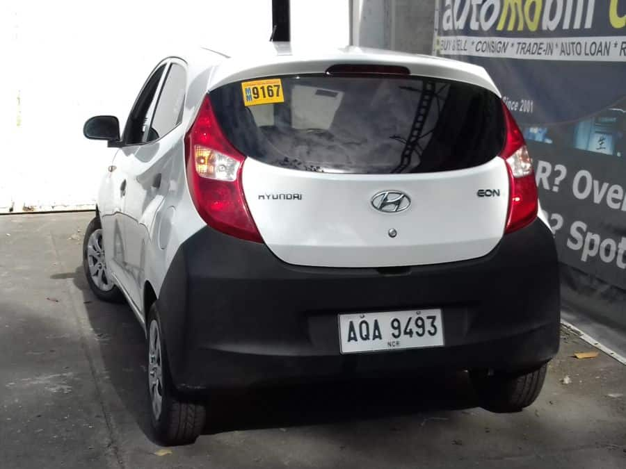 2015 Hyundai Eon - Rear View