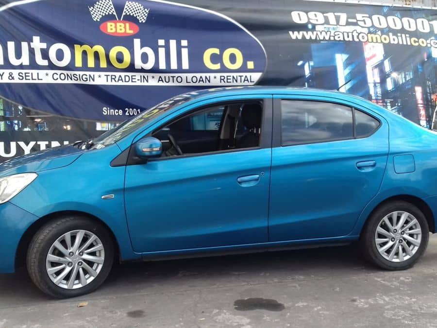 2011 Mitsubishi Mirage - Left View