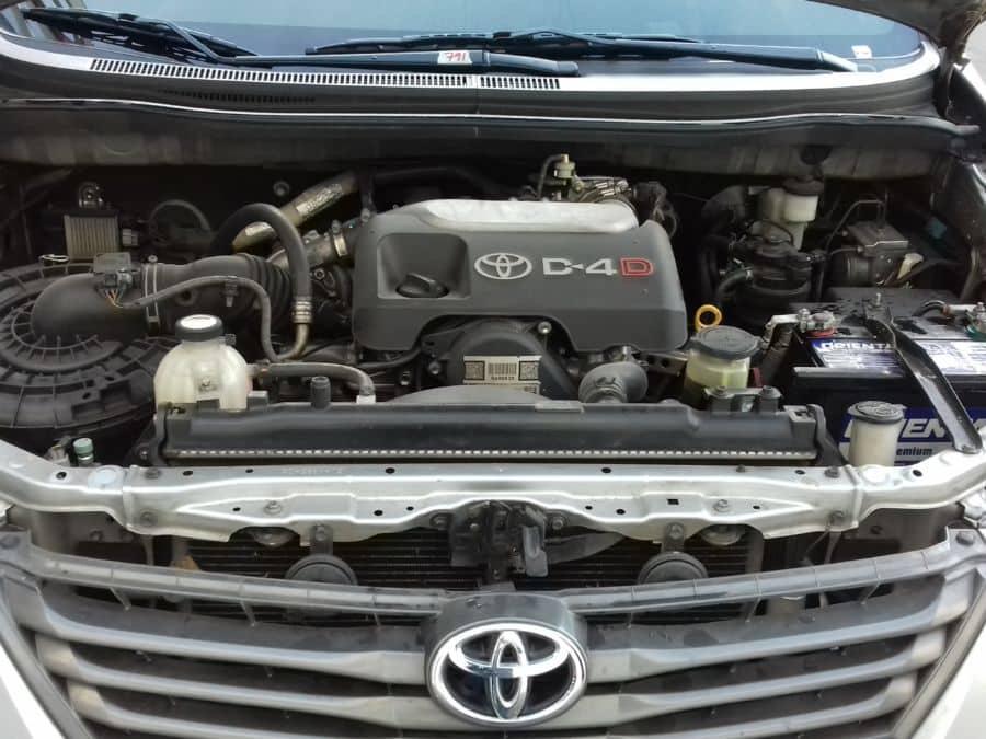 2014 Toyota Innova - Interior Rear View