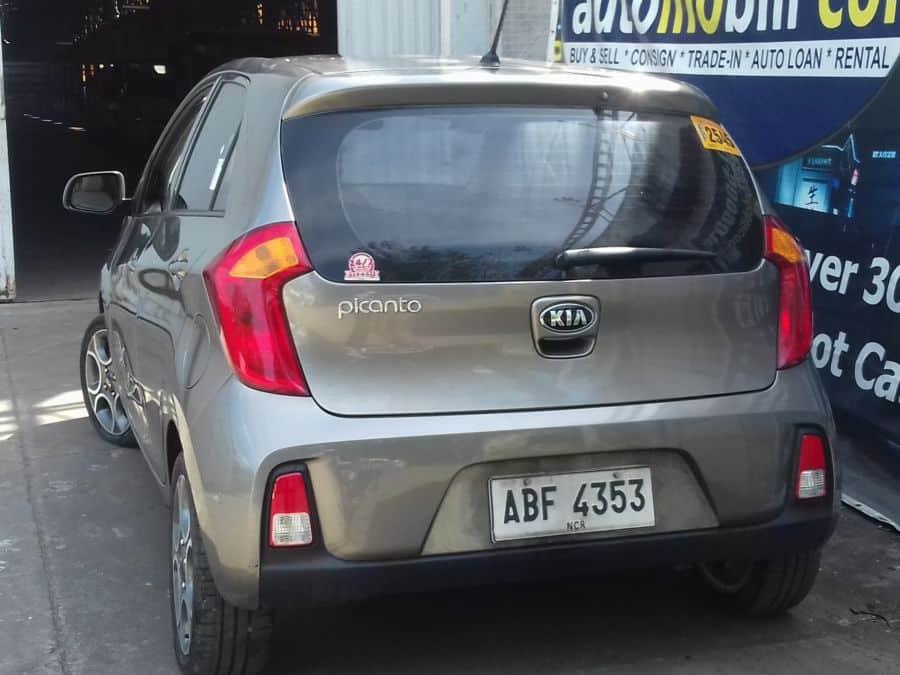 2015 Kia Picanto - Rear View