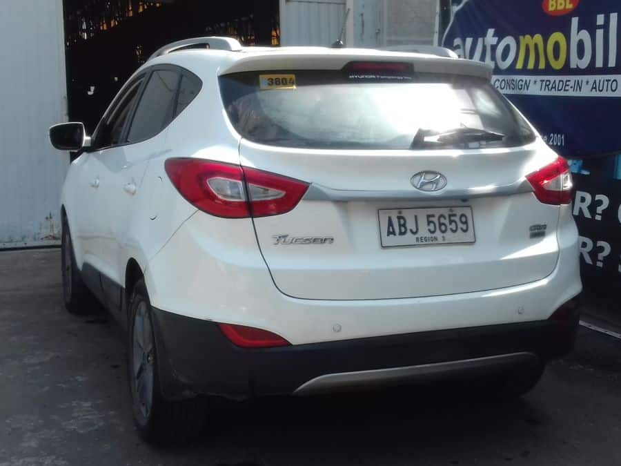 2015 Hyundai Tucson - Rear View