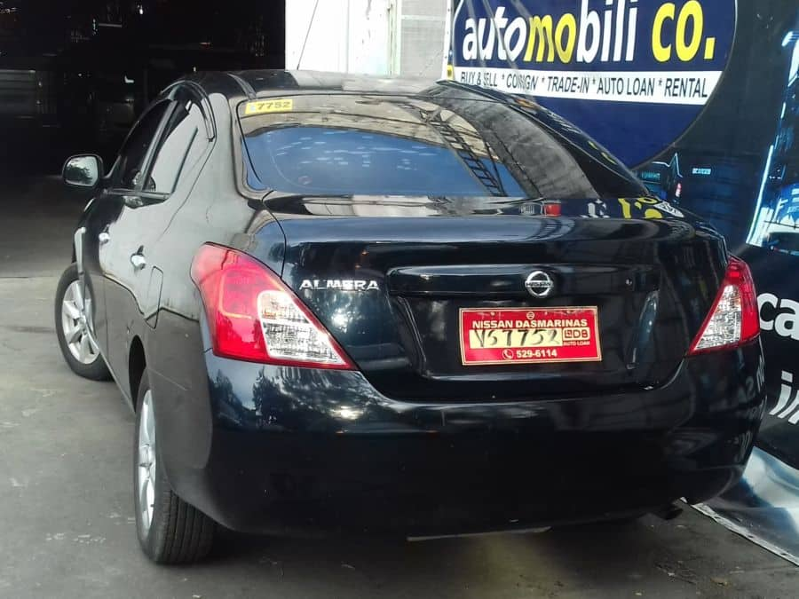 2015 Nissan Almera - Rear View