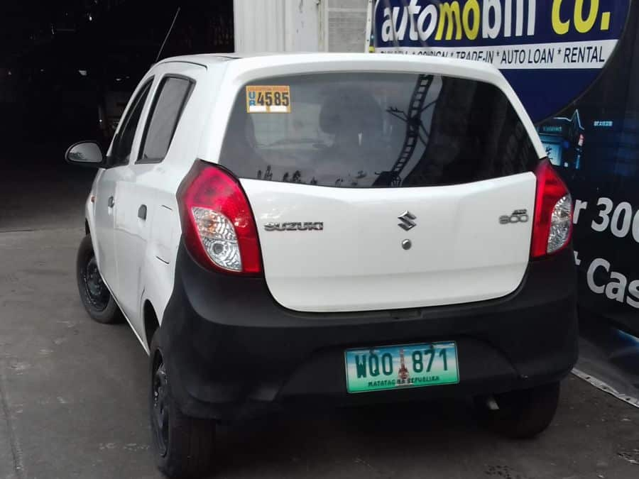 2014 Suzuki Alto - Rear View