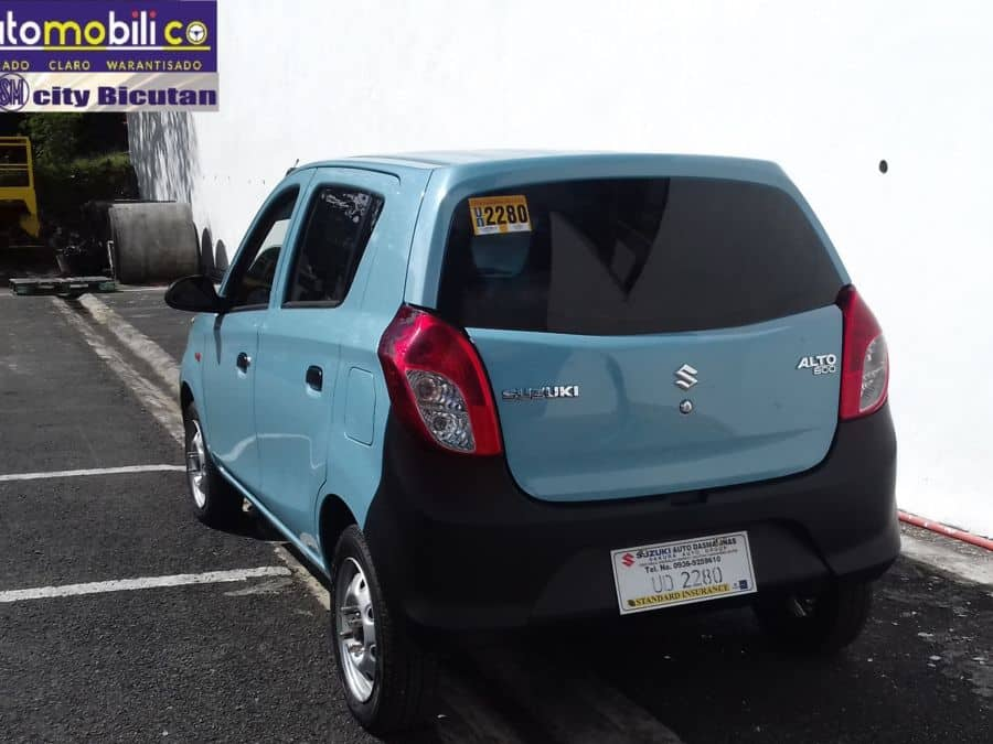 2016 Suzuki Alto - Rear View