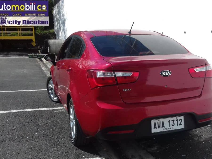 2015 Kia Rio - Rear View