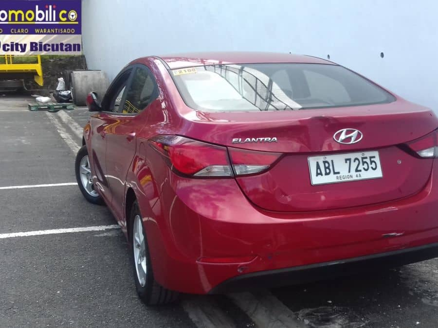 2014 Hyundai Elantra - Rear View