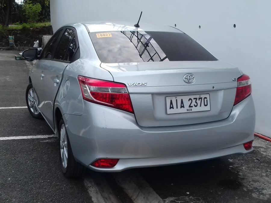 2015 Toyota Vios - Rear View