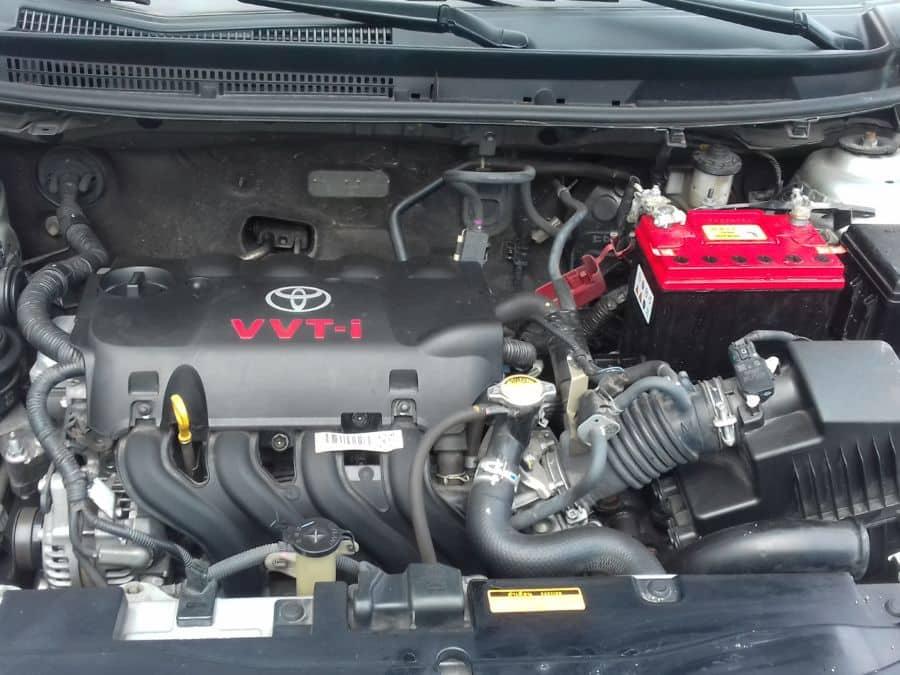 2015 Toyota Vios - Interior Rear View