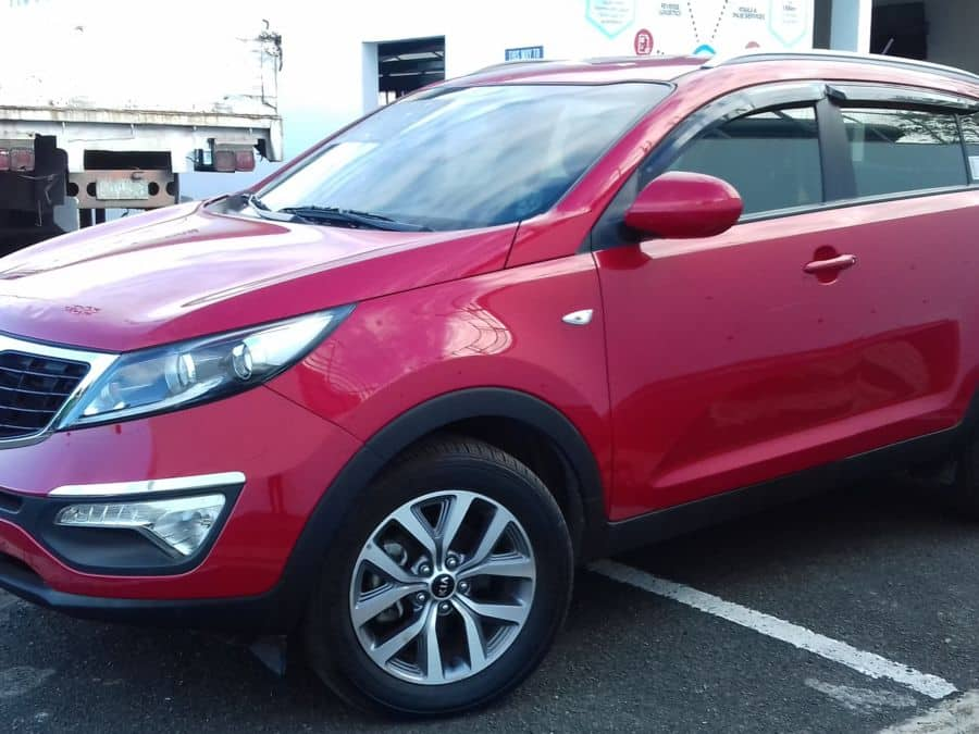 2015 Kia Sportage - Left View