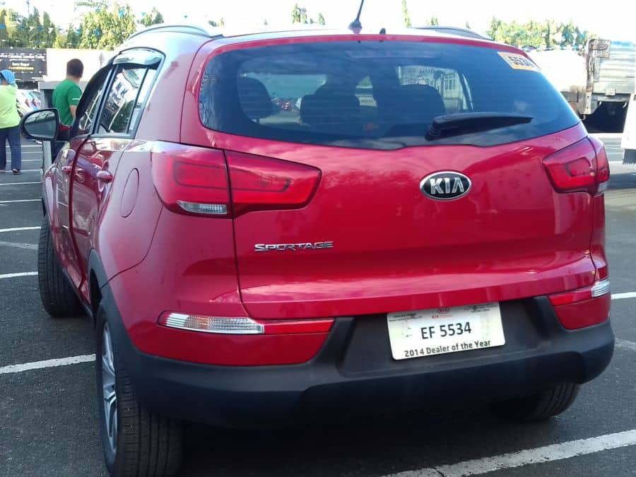 2015 Kia Sportage - Rear View