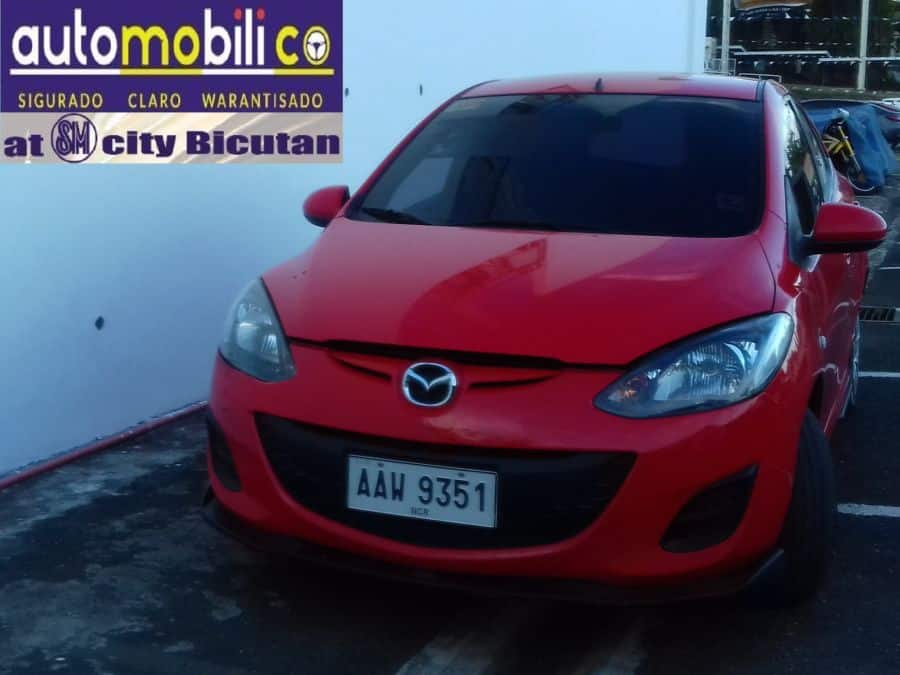 2014 Mazda 2 - Front View