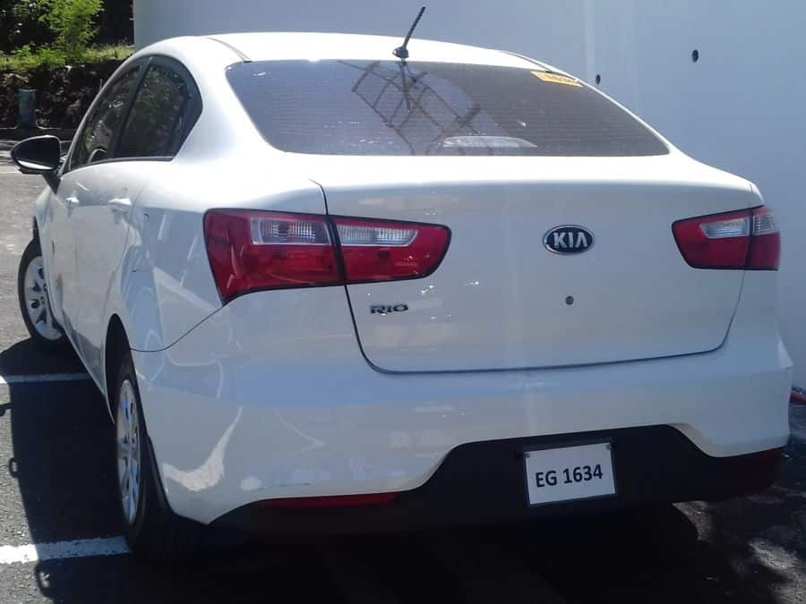2016 Kia Rio5 - Rear View