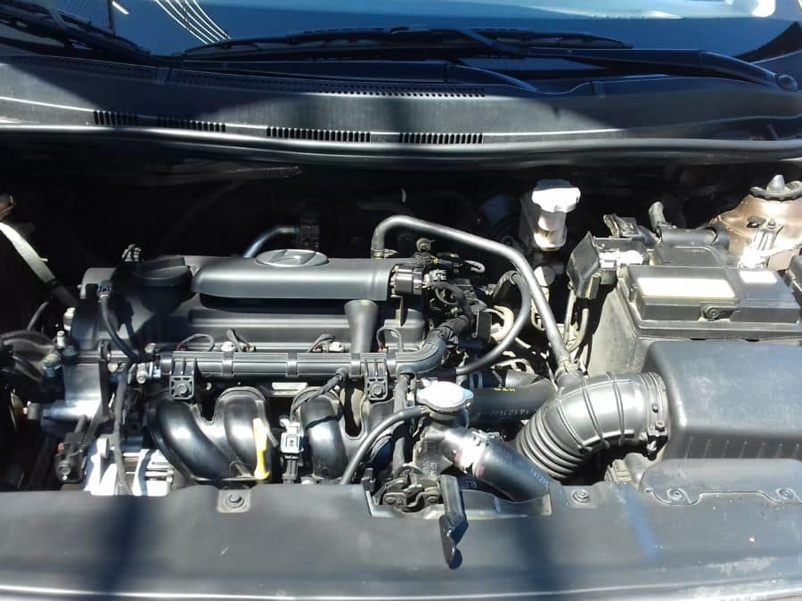 2015 Hyundai Accent - Interior Rear View