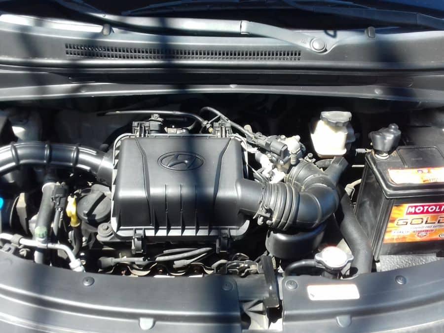 2012 Hyundai Eon - Interior Rear View