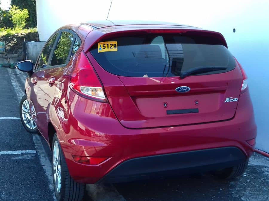 2016 Ford Fiesta - Rear View