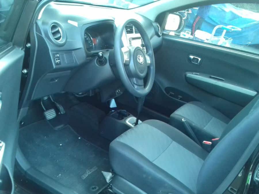 2015 Toyota Wigo - Interior Front View