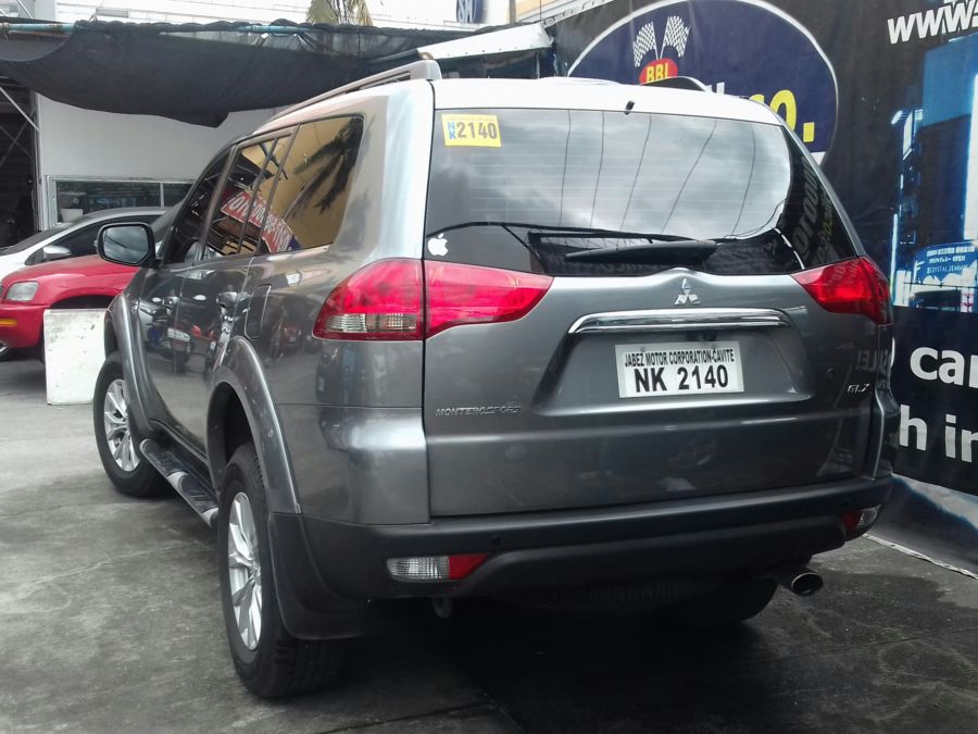 2016 Mitsubishi Montero Sport - Rear View