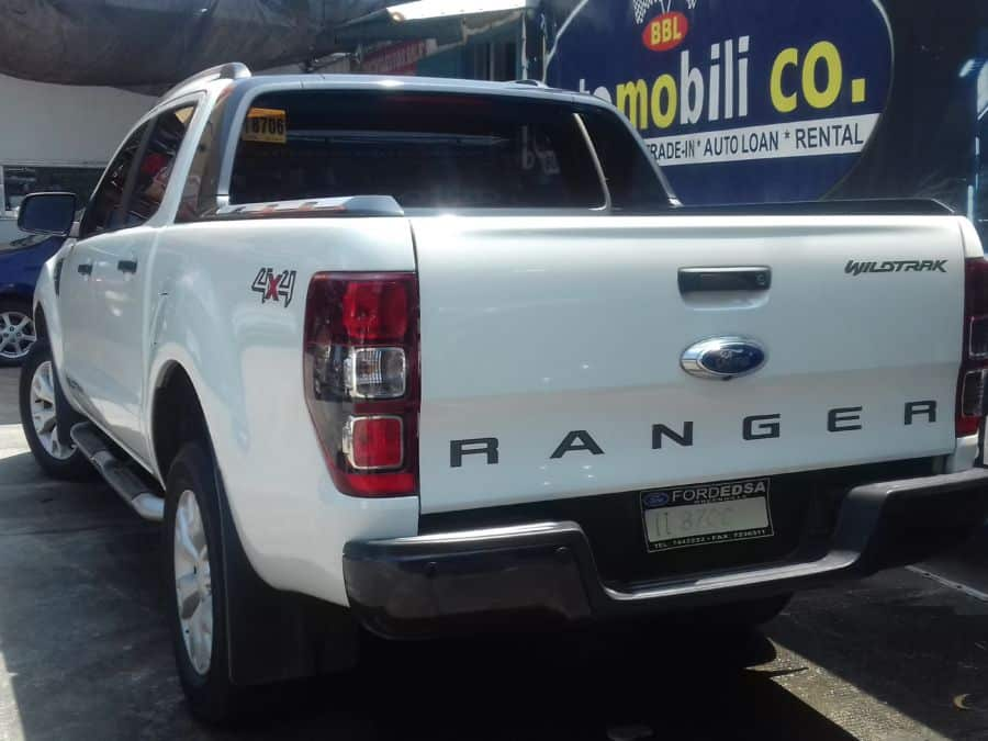 2015 Ford Ranger - Rear View
