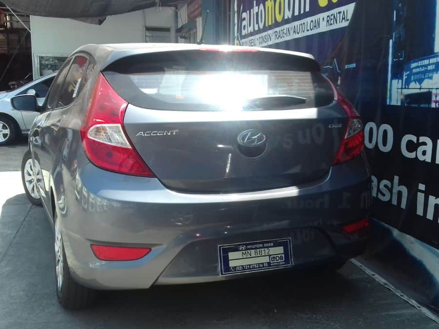 2015 Hyundai Accent - Rear View