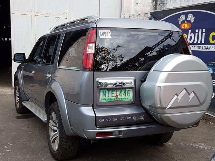 2010 Ford Everest - Rear View