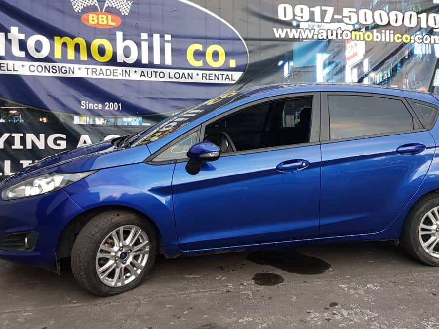 2014 Ford Fiesta - Left View