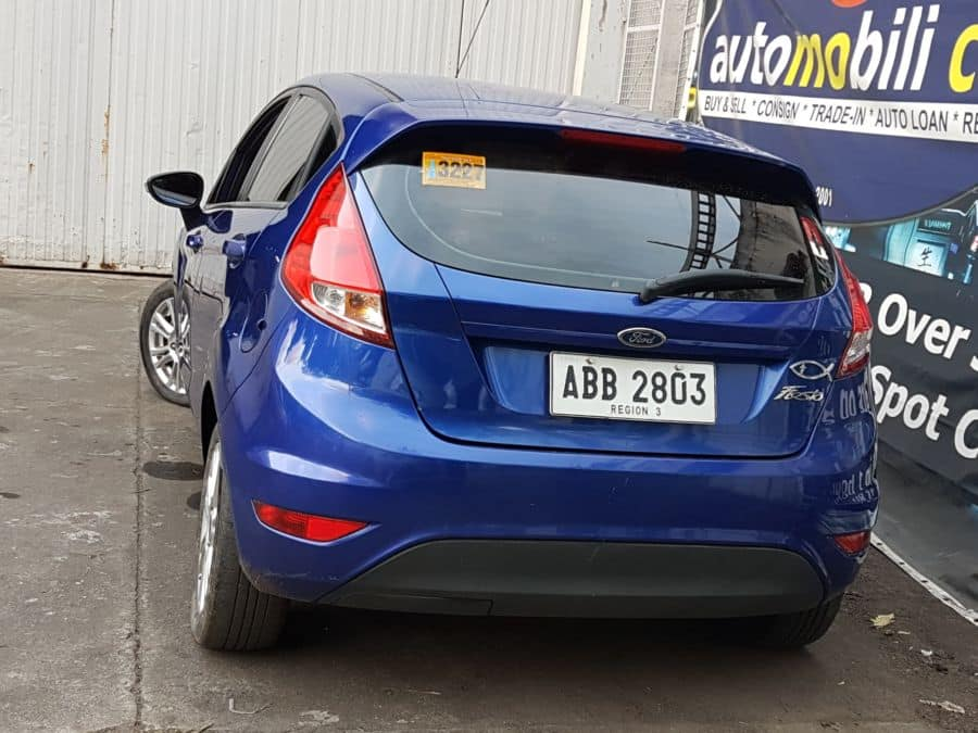 2014 Ford Fiesta - Rear View