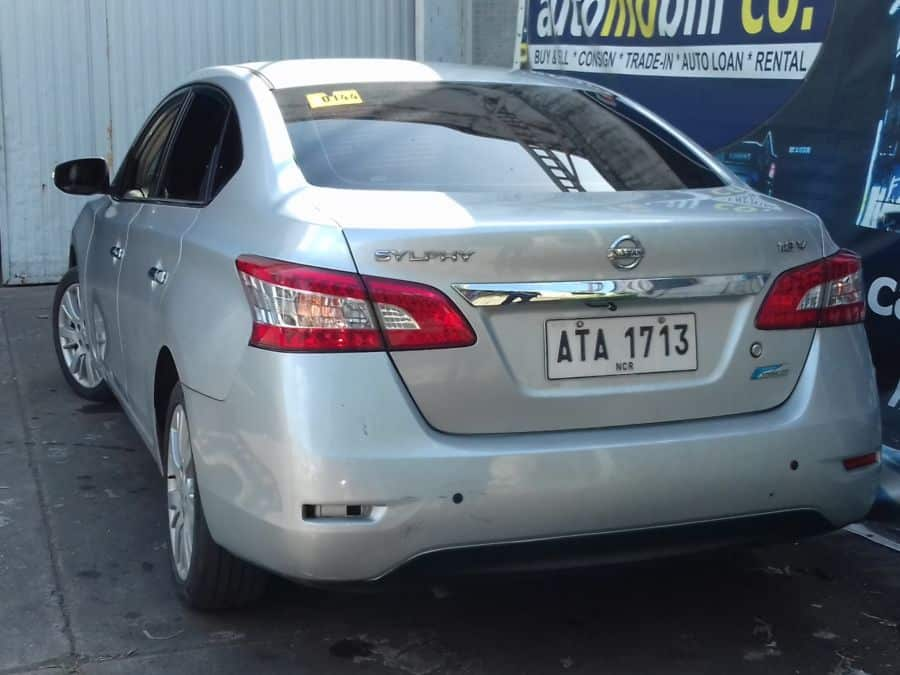 2014 Nissan Sylphy - Rear View