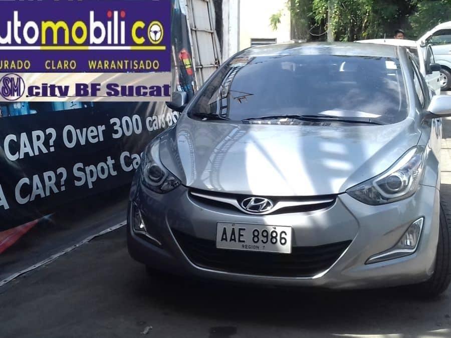 2014 Hyundai Elantra - Front View