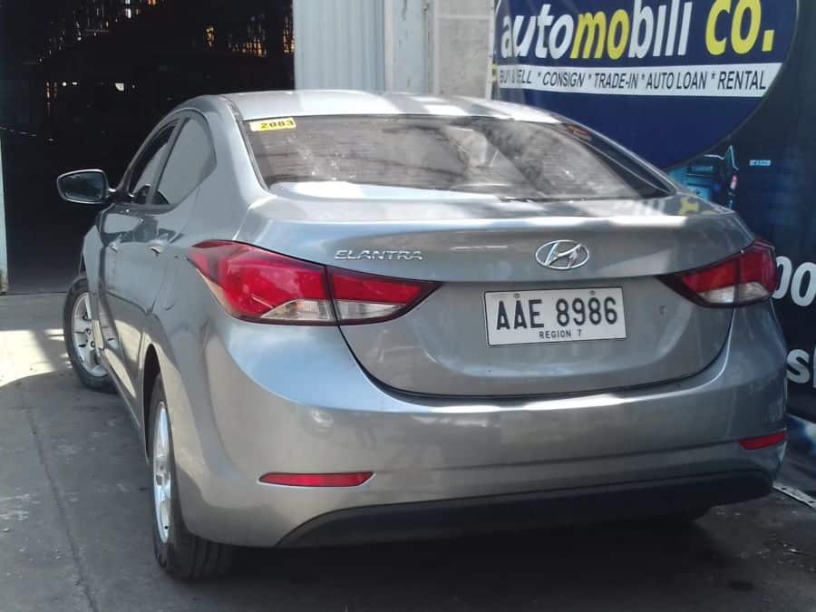2014 Hyundai Elantra - Rear View