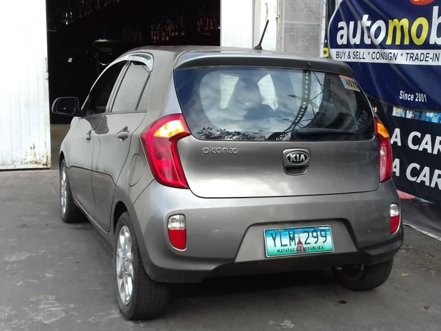 2012 Kia Picanto - Rear View