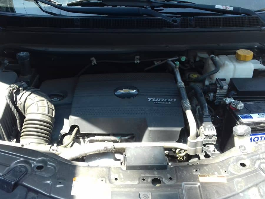 2014 Chevrolet Captiva - Interior Rear View