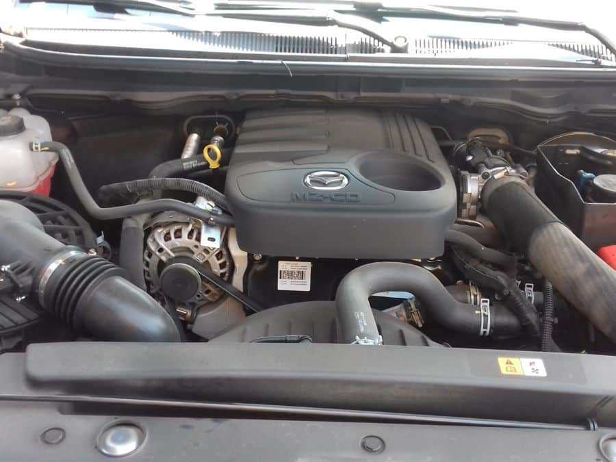 2016 Mazda BT-50 - Interior Rear View